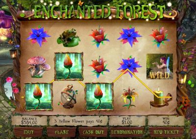 Enchanted Forest Pull Tab Game