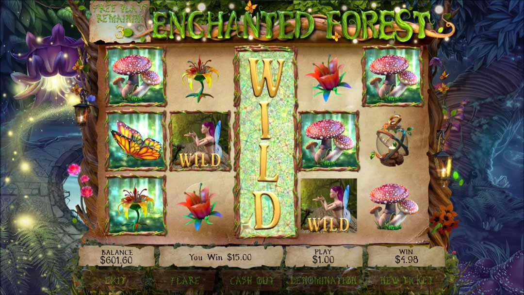 Enchanted-forest-pull-tab-game-screen-shot-Wild