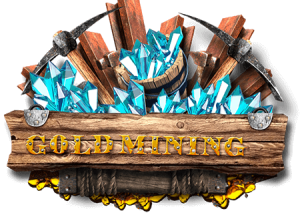 Gold-mining-pull-tab-game-logo