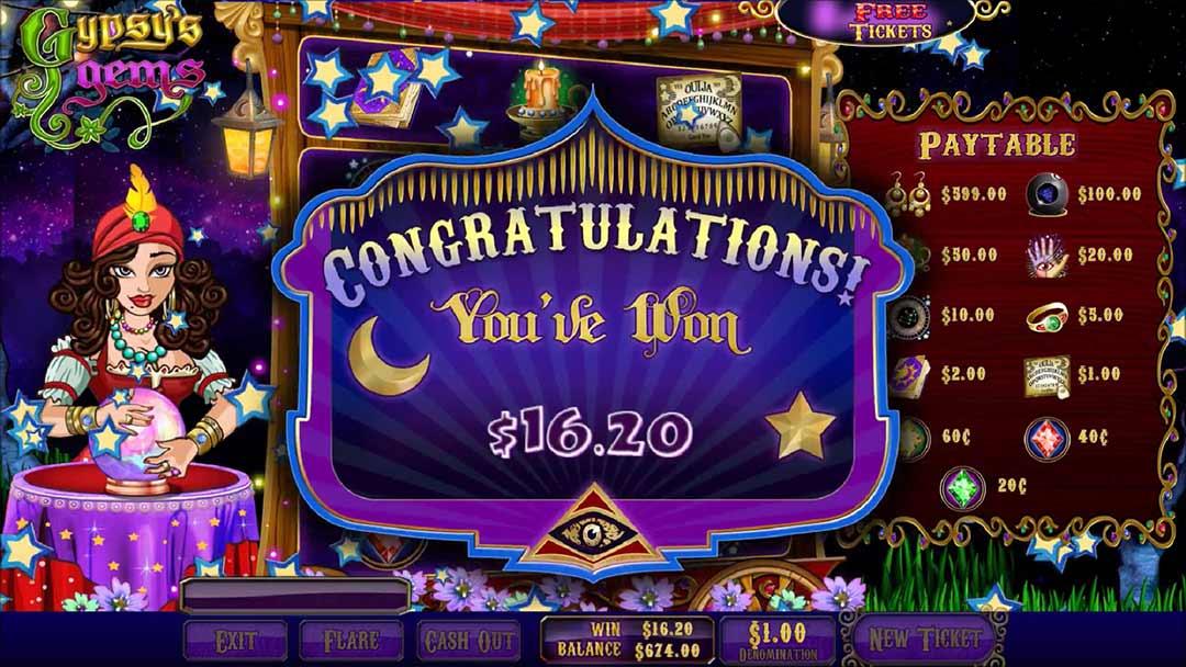 Gypsy-gems-pull-tab-game-screen-shot-winner