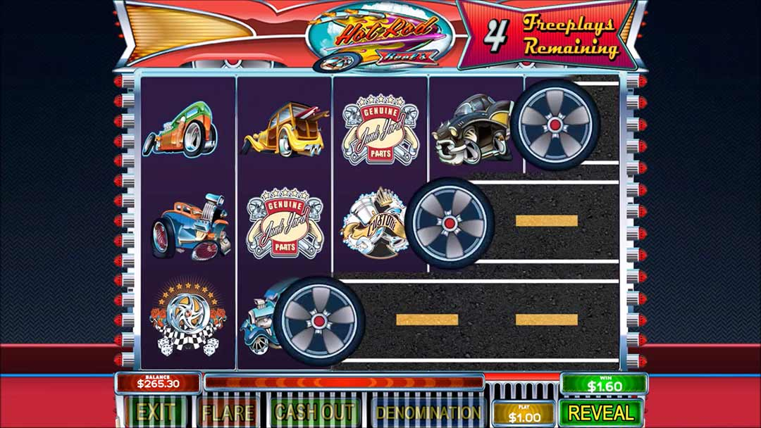 Hot-rod-pull-tab-game-screen-shot