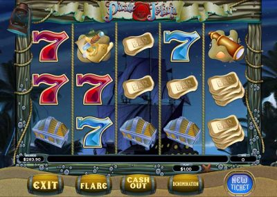 Pirate Island Pull Tab Game