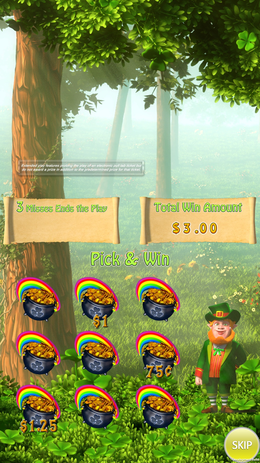 Dublin-dollars-vertical-pull-tab-pick-and-win-screen