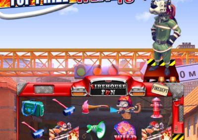 Firehouse Fun Vertical Pull Tab Game