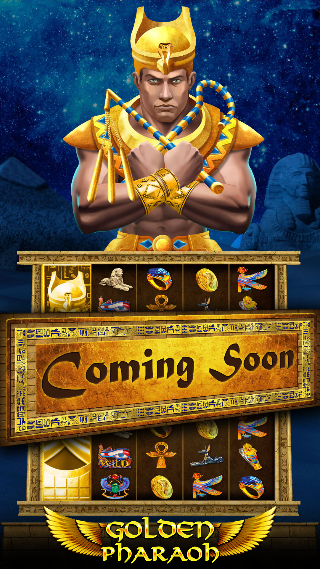 Golden-Pharaoh-Vertical-pull-tab-game-Hero-Screen
