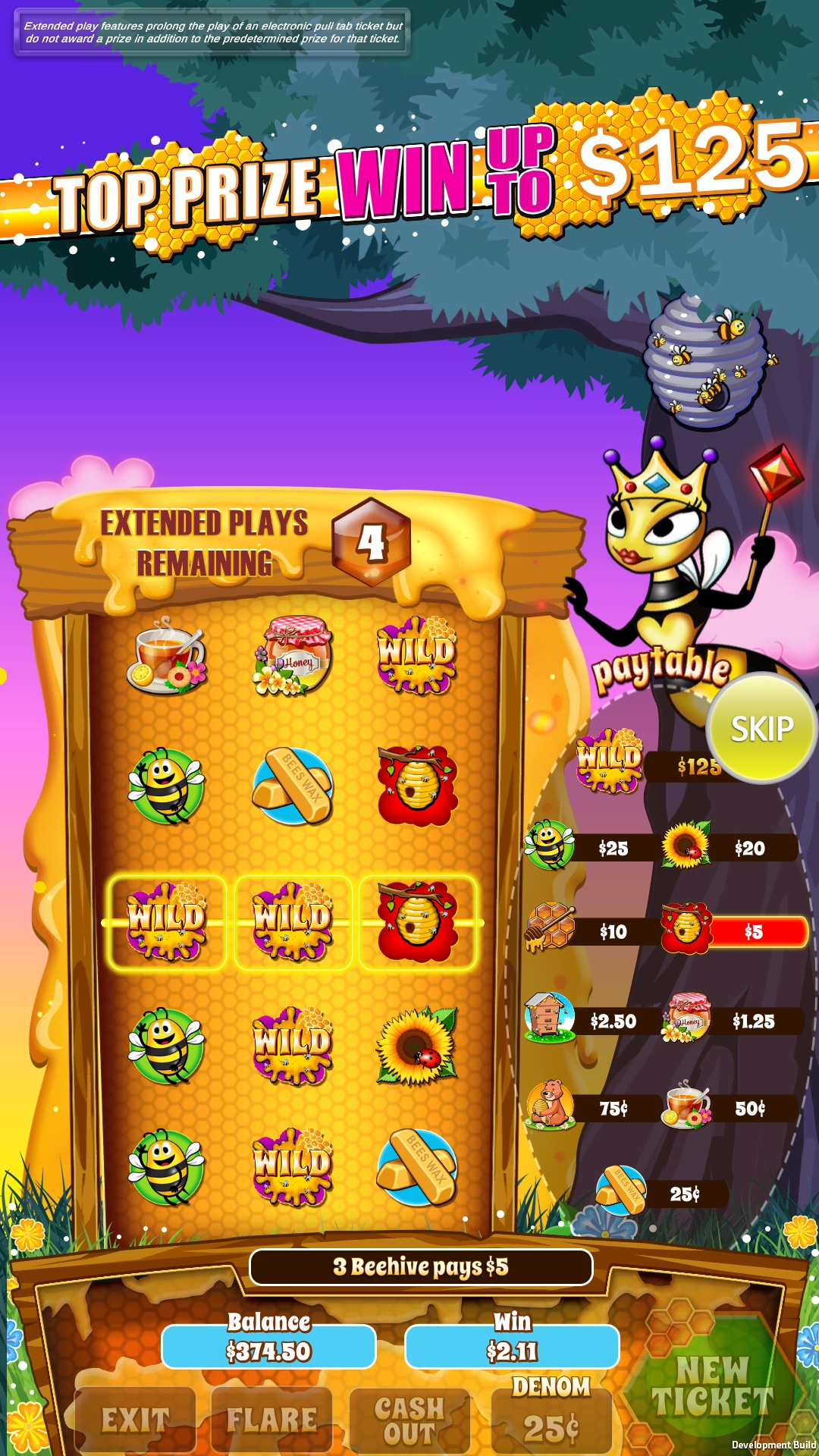 Honeycomb-pull-tab-game-screen-shot-Free-Play