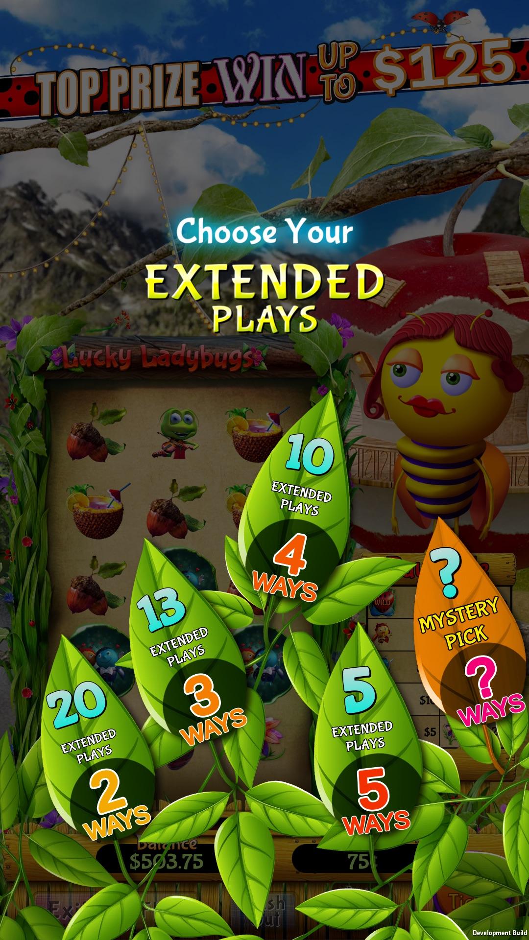 Lucky Ladybugs Screen shot
