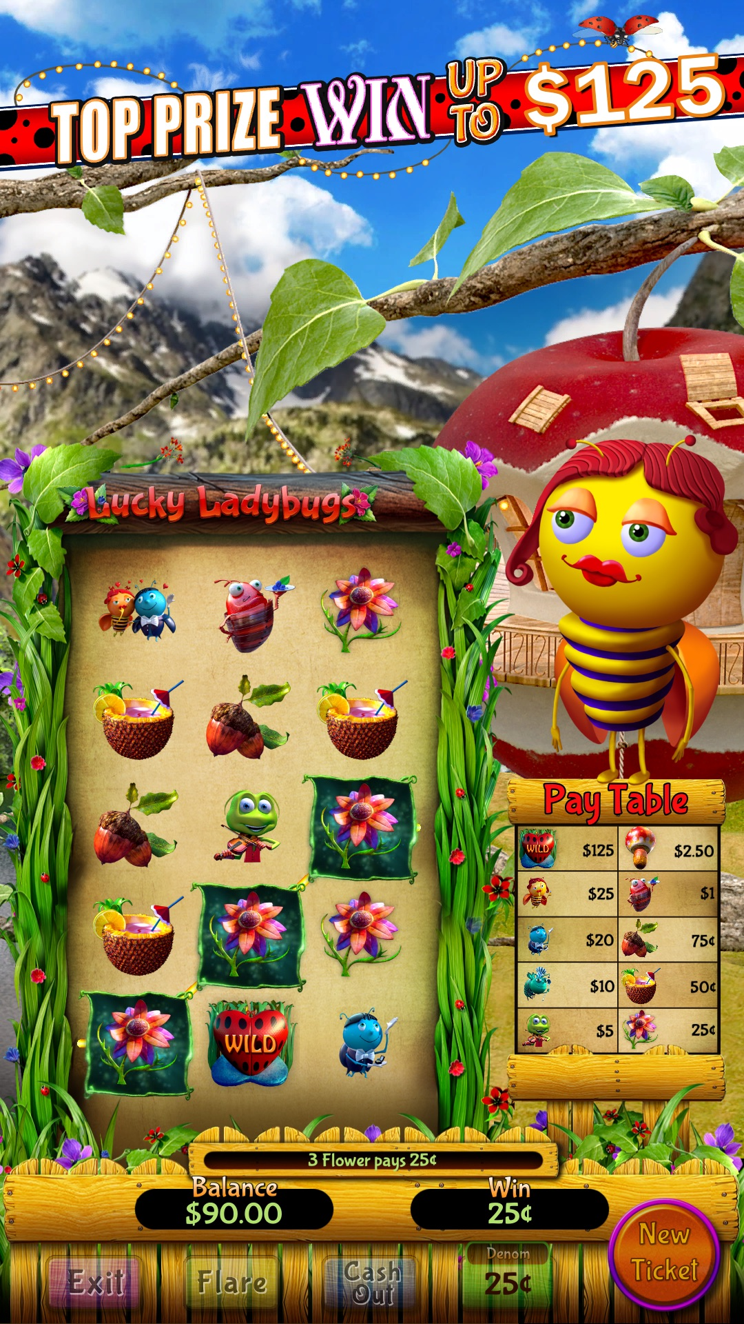 Lucky Ladybugs Vertical screen shot hero