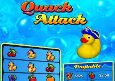 Quack Attack Vertical Pull Tab Games