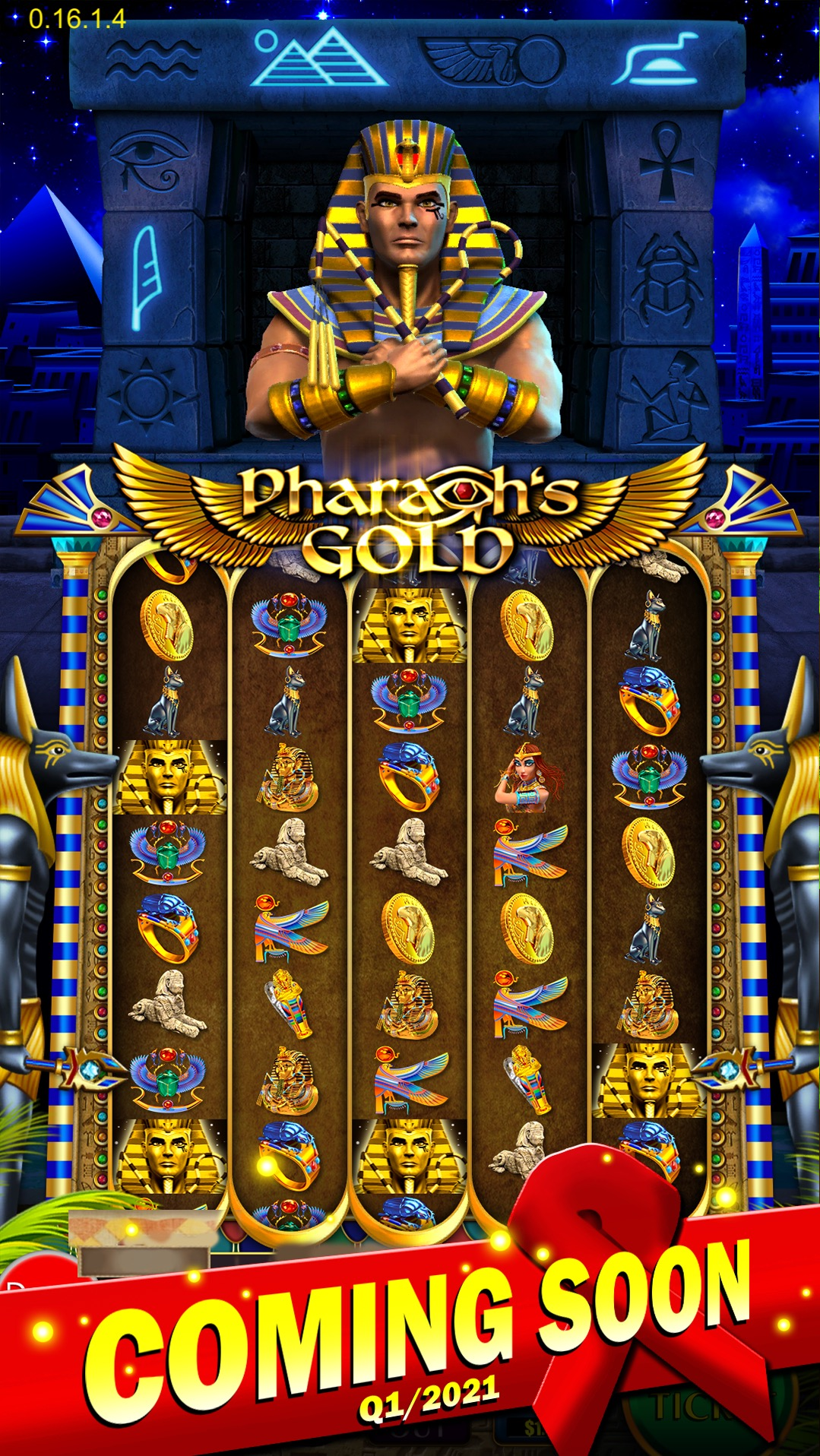 Pharaohs Gold Pull Tab Game