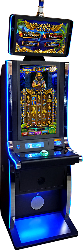 Electronic Pull Tab Cabinet